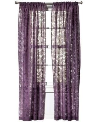 Draped In Style 8 Curtains For Your Home With Images Purple