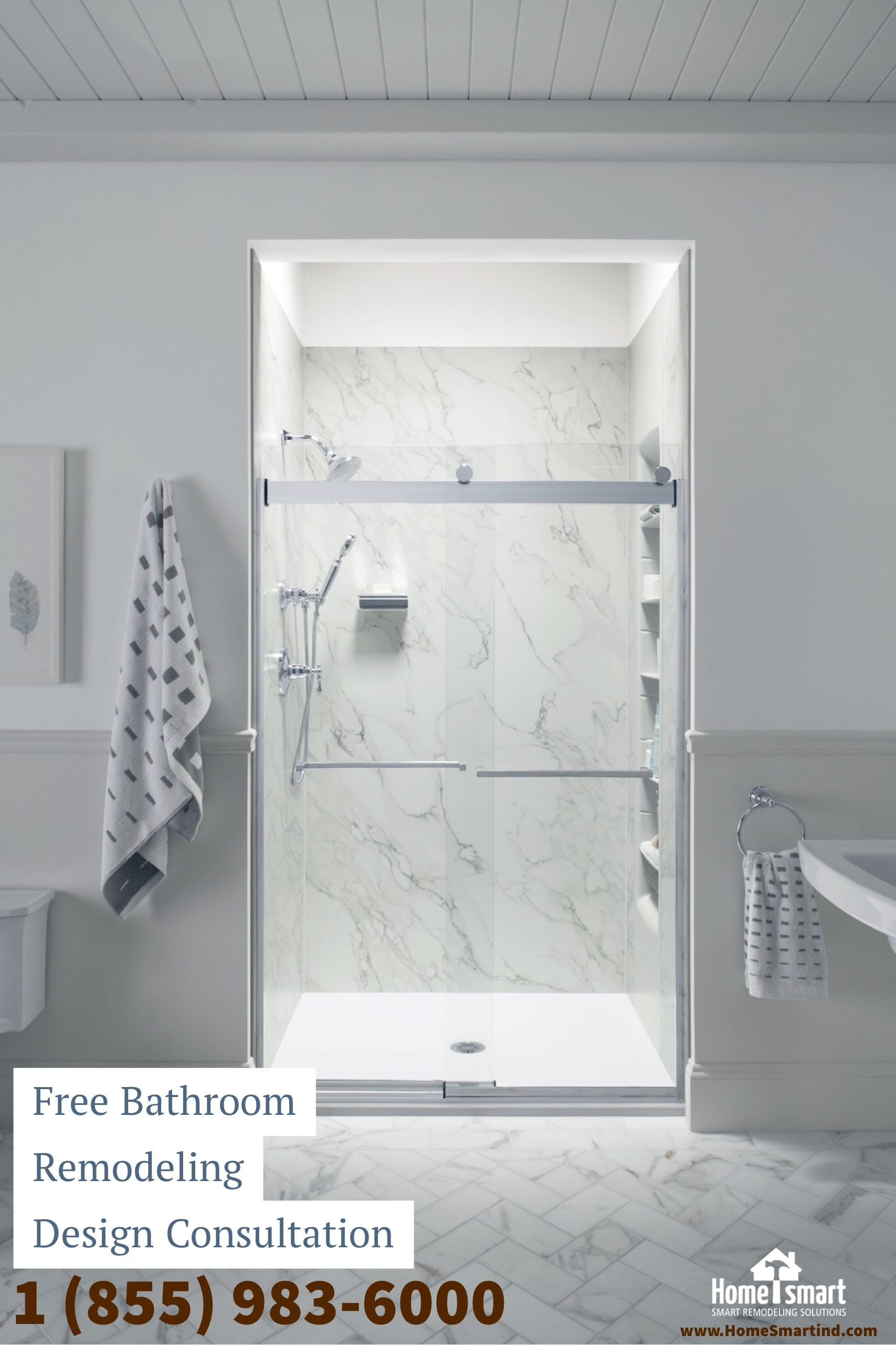 Shower Replacements Kohler Showers Marble Crushed Stone Shower Stone Shower Bathroom Remodel Master Bathrooms Remodel