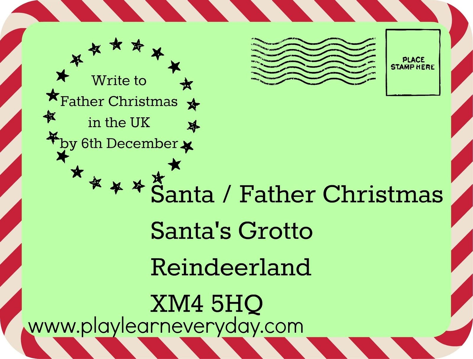 Writing Letters To Santa Around The World  Writing Letters And