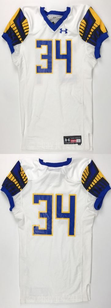 e45286566 Clothing 21218  New Under Armour Men S L Gameday Select Jetstream Football  Jersey  34 White -  BUY IT NOW ONLY   27.99 on eBay!