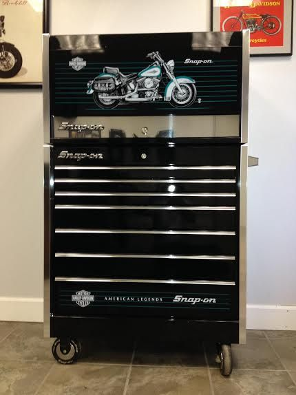 Harley Davidson Snap On Tool Box Never Used Mint Condition Only