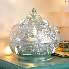 Beautiful Zenza morrocan table lamp, Maison Malou loves it!