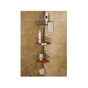 Bamboo Tension Pole Caddy by Better Bath by Better Bath. $64.99 ...
