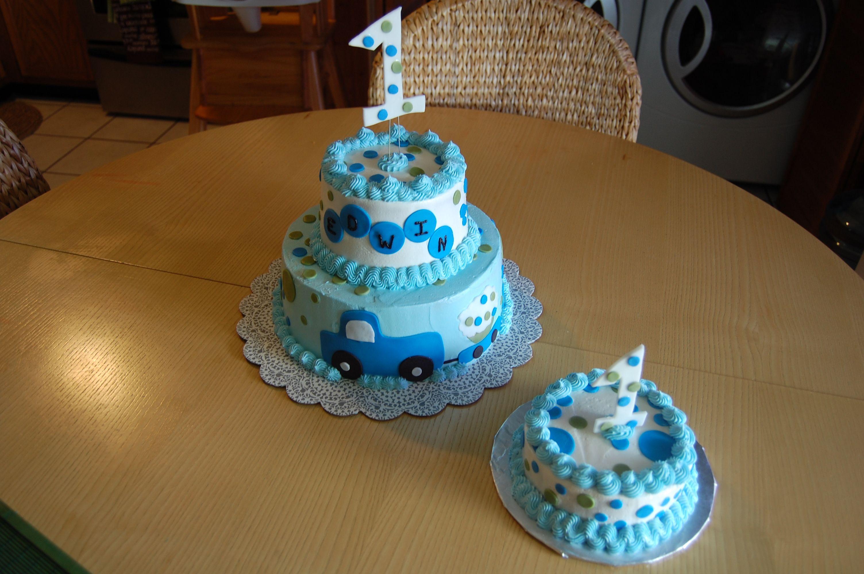 Baby Boy 1st Birthday First Birthday Cakes 1st Boy Birthday