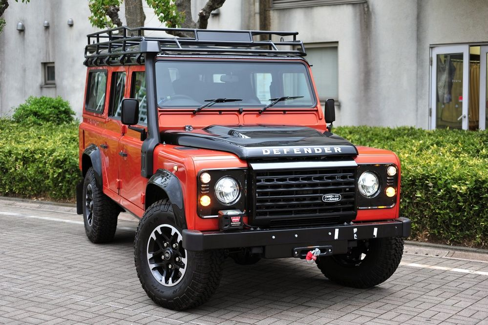 Land Rover Defender ADVENTURE Final Limited Edition 2015