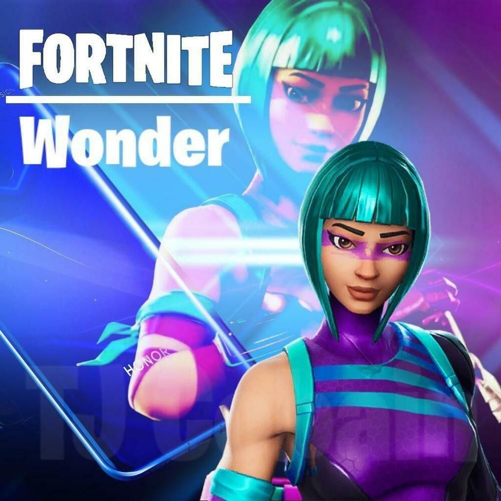 Epic Games Fortnite] Honor Wonder Skin - Huawei 20 (Video Game CODE