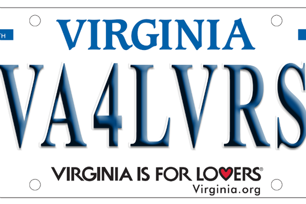 New Virginia License Plates With Virginia Is For Lovers Slogan