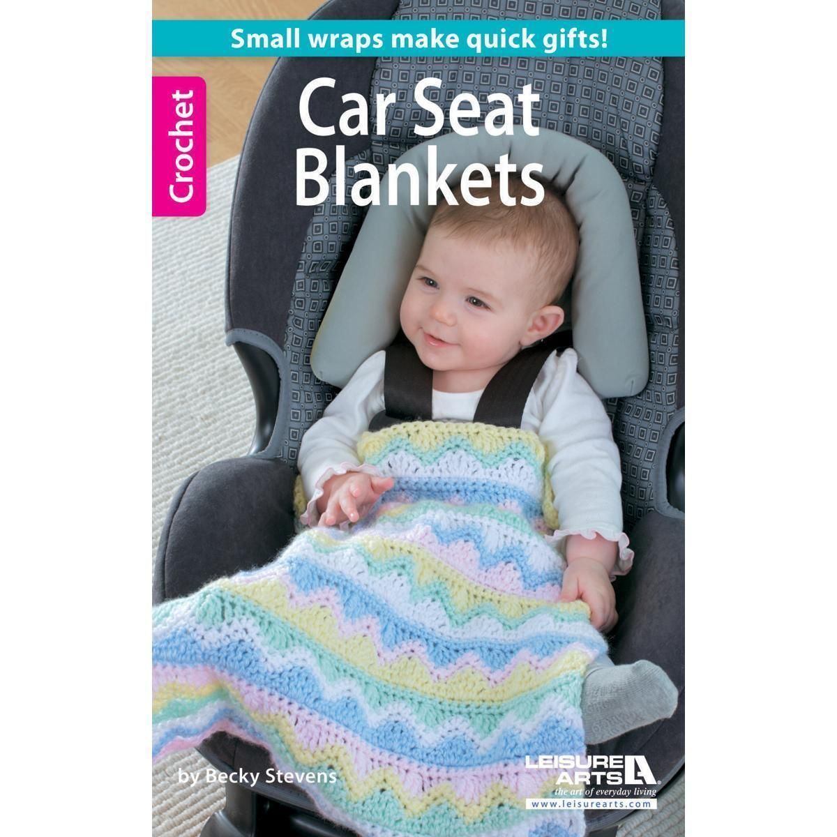 Leisure Arts - Crochet Car Seat Blankets   Products   Pinterest ...