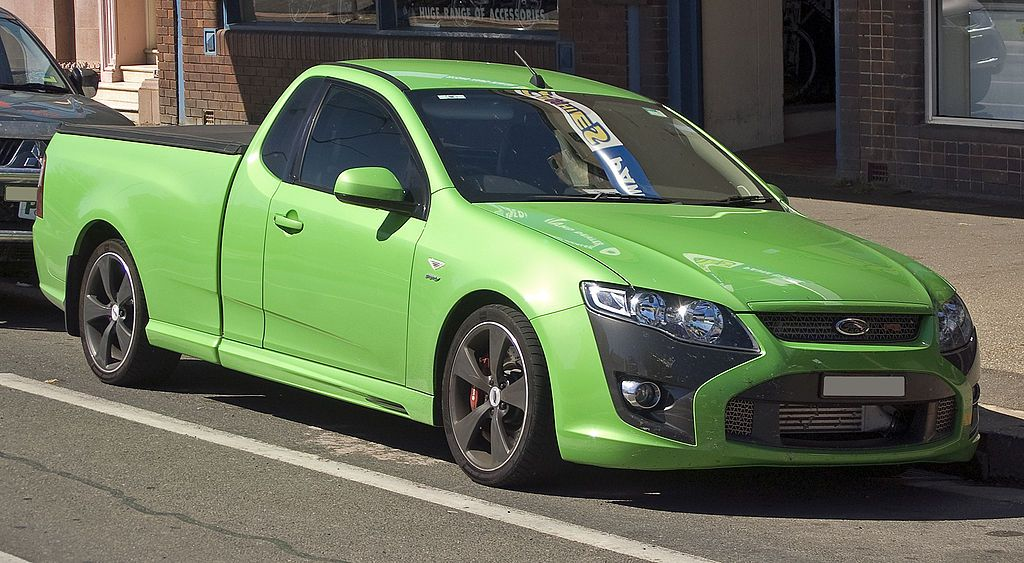 Fpv F6 Fg Ute Ford Performance Vehicles Wikipedia Gt Cars