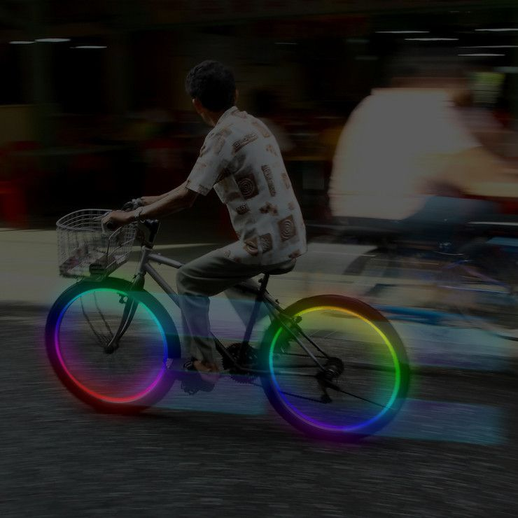 Bike Lights To Color Your Night With Images Bike Bike Lights