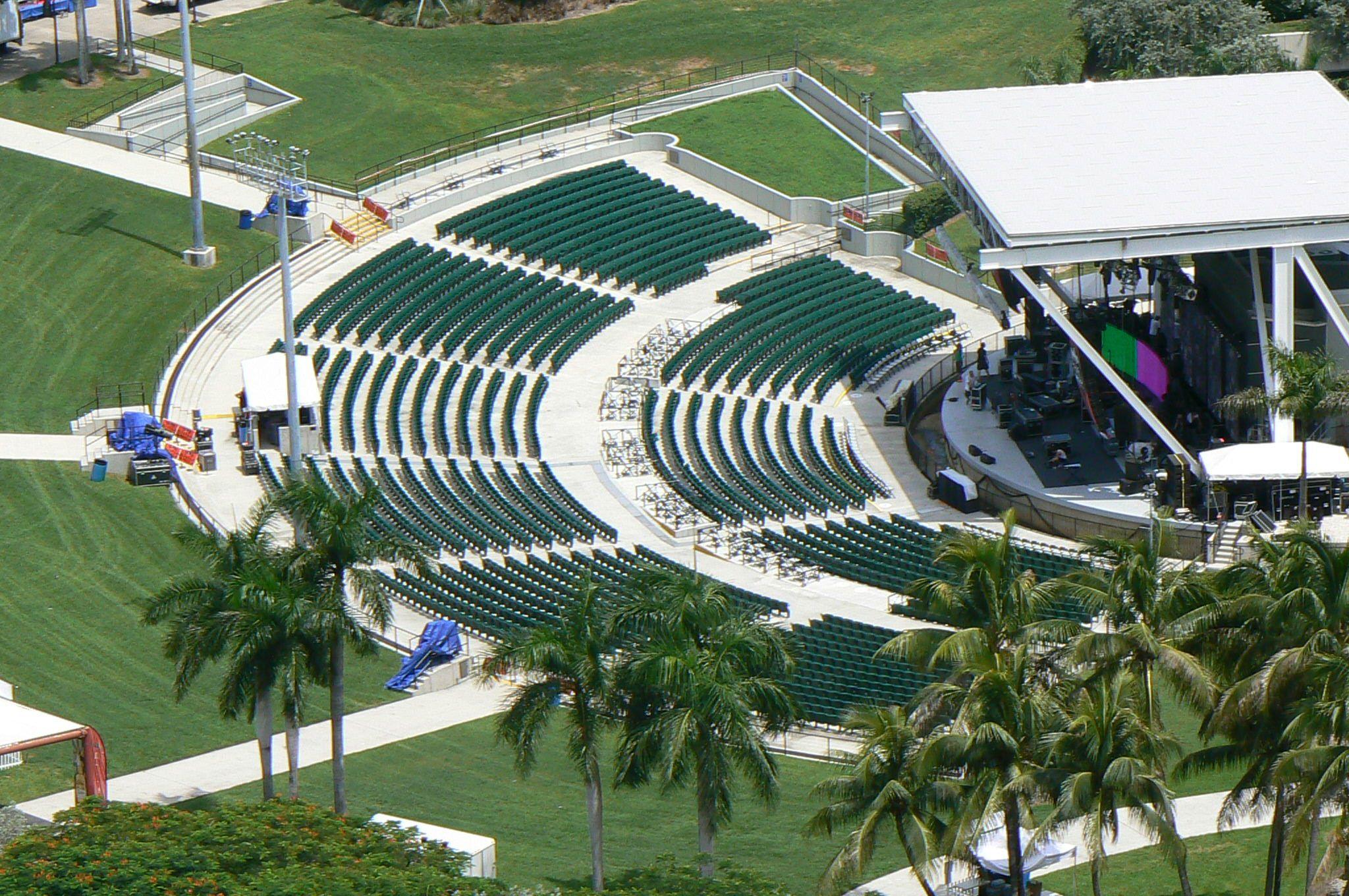 Klipsch Bayfront Park Amphitheater Miami Beach Real Estate Miami Real Estate Seating Charts