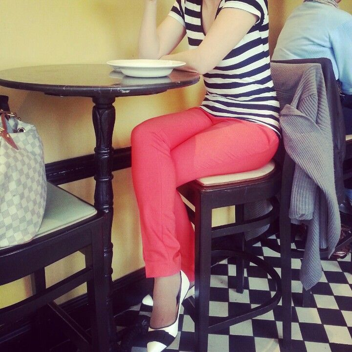stripes and coral xxx