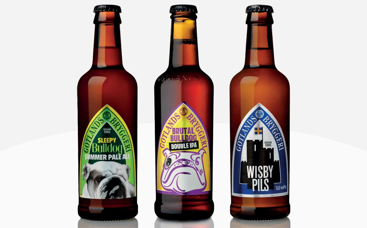 Importers To Make Swedish Craft Brew Available In The Uk Craft Beer Label Design Beer Beer Label Design