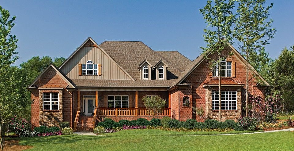 New American House Plan With 3080 Square Feet And 4 Bedrooms From Dream Home  Source | House Plan Code DHSW52801