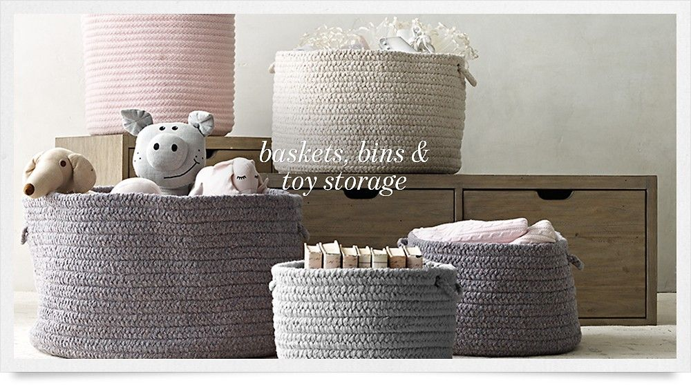 Rh Baby Child Storage Ideas
