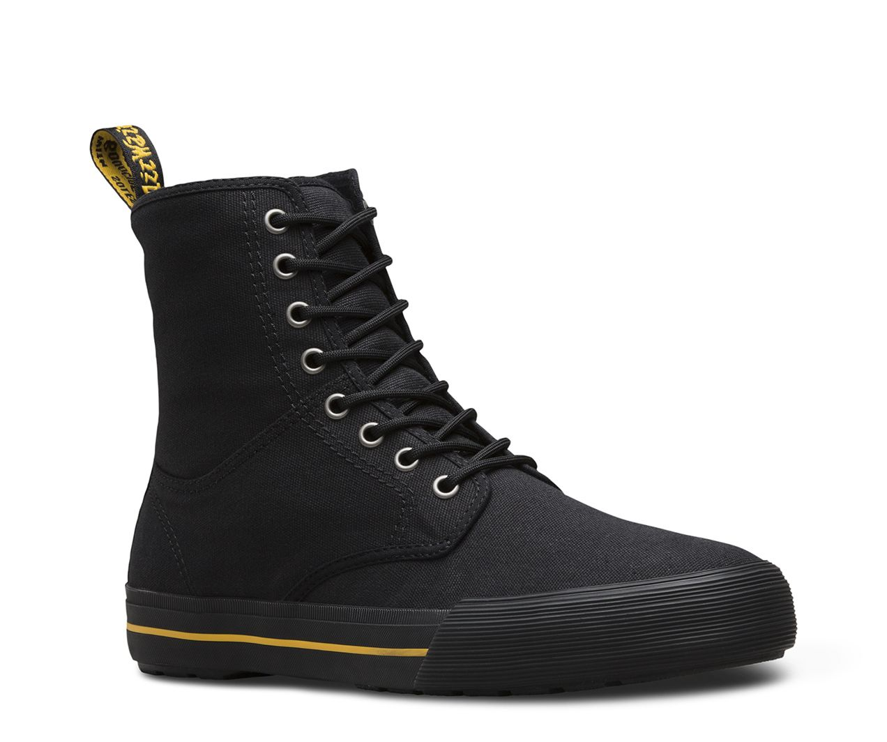 Dr. Martens Winsted 8-Eye Boot(Men's) -Mid Olive Heavyweight Canvas Cheap Factory Outlet 2rZrk5z2