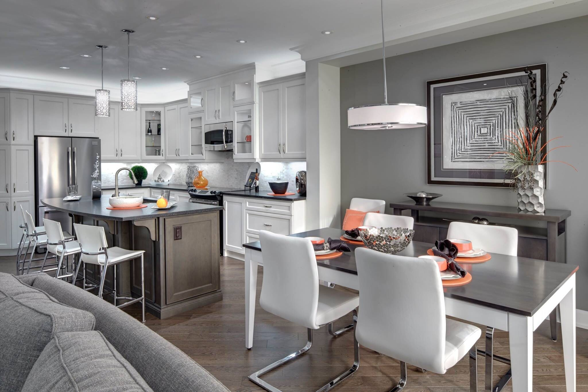 3D living room kitchen model | 1146959 | TurboSquid