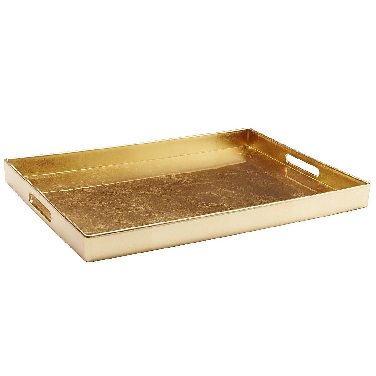 Regalia Tray Rectangle Gold Pier 1 Imports Gold Tray