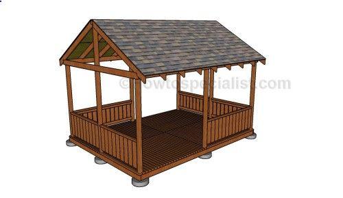 12x16 Gazebo Shed Plans 12x16 Wooden Gazebo Plans Rectangular Gazebo Diy Gazebo