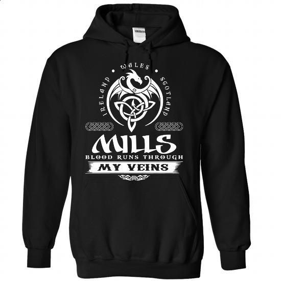 MILLS Celtic Blood - #hoodie quotes #sweatshirt chic. CHECK PRICE => https://www.sunfrog.com/Names/MILLS-Celtic-Blood-2183-Black-Hoodie.html?68278
