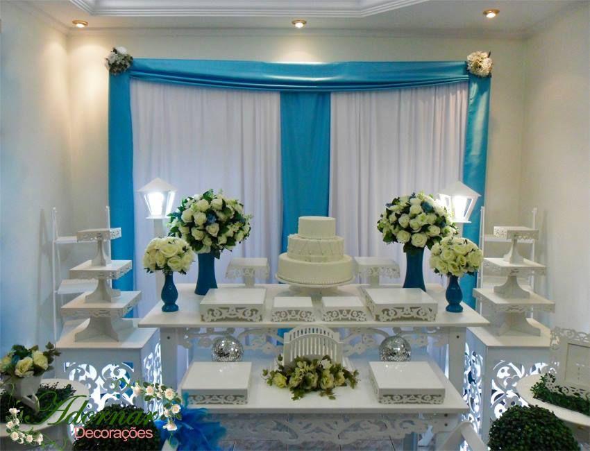 a08e14301f Aluguel Decoração Para Festa de 15 Anos Azul Tiffany Noivado e Casamento em  provençal. Decorações de primeira classe, locação de móveis prove