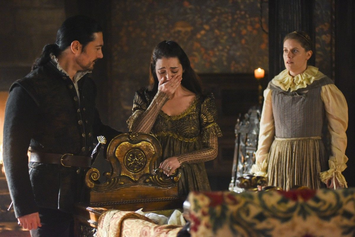 Reign, season 4, episode 15, Blood in the water. Bothwell and Queen Mary.