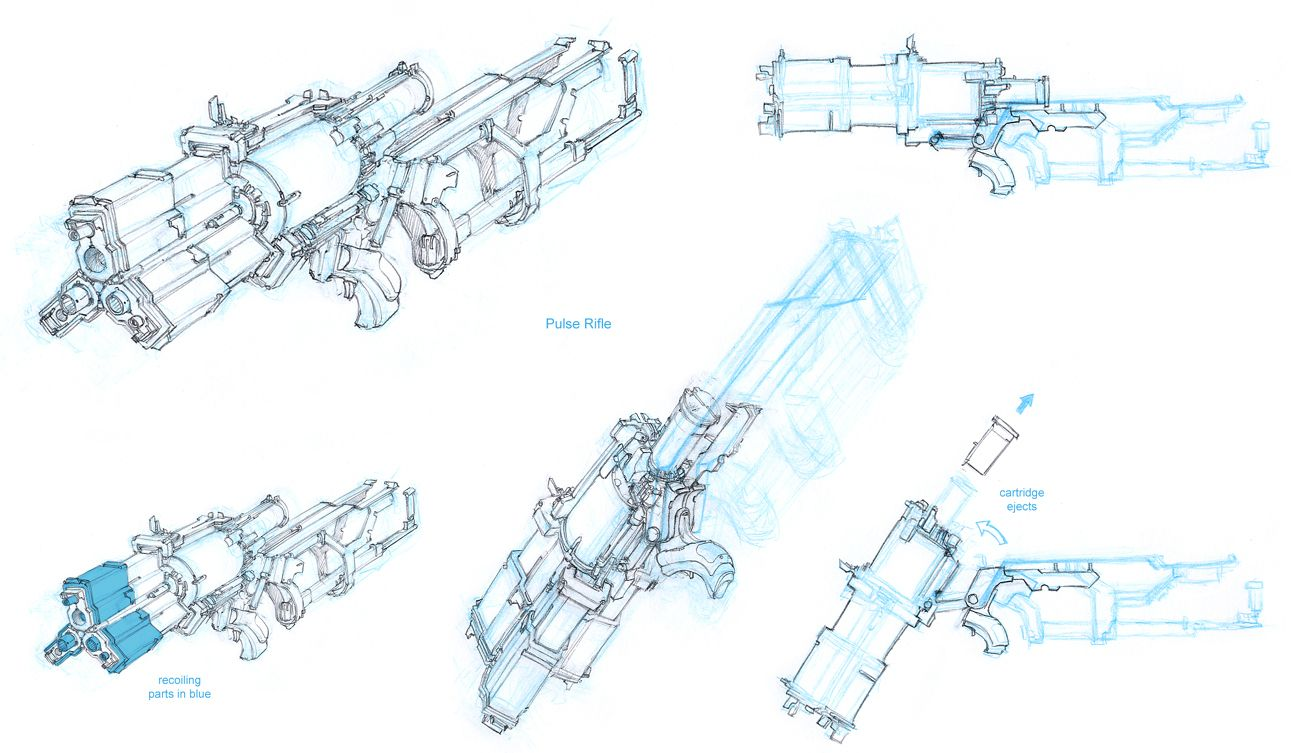 Dead space pulserifleconceptg 1300753 weapons and dead space pulserifleconceptg 1300753 malvernweather Choice Image