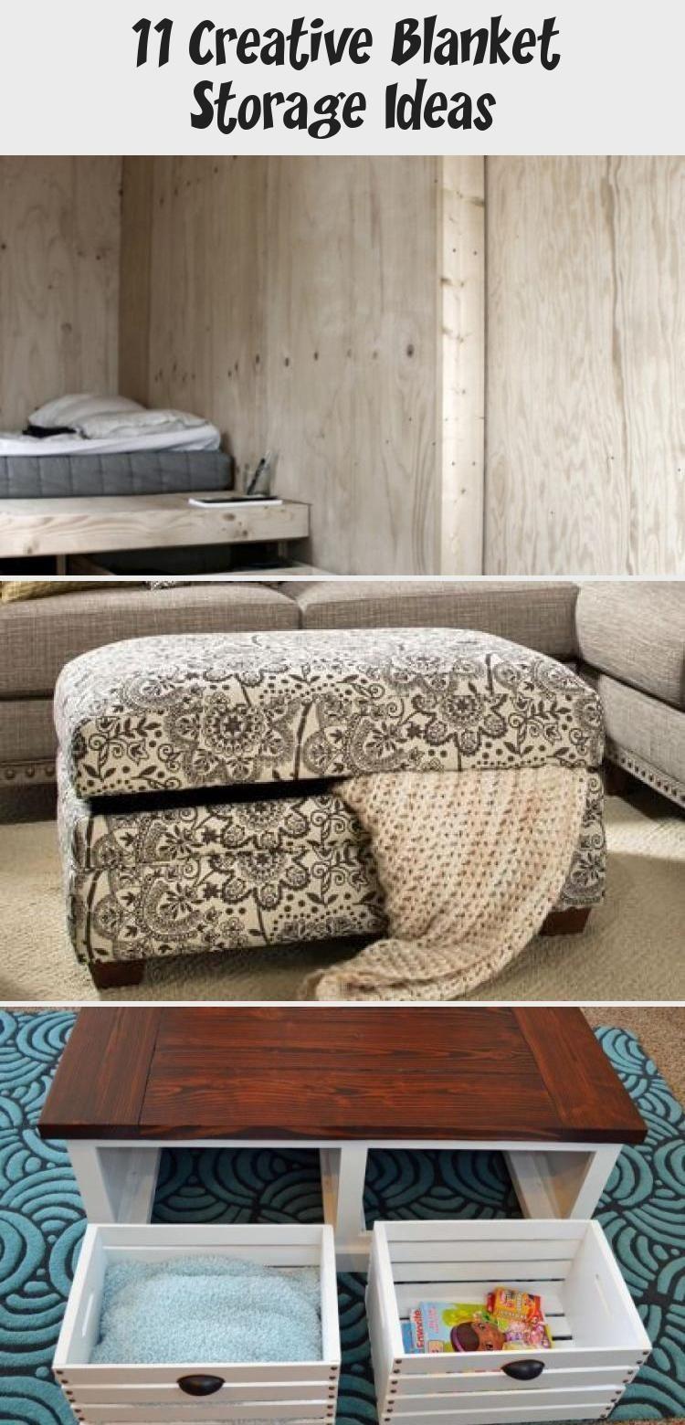 11 Creative Blanket Storage Ideas Blanket Creative I
