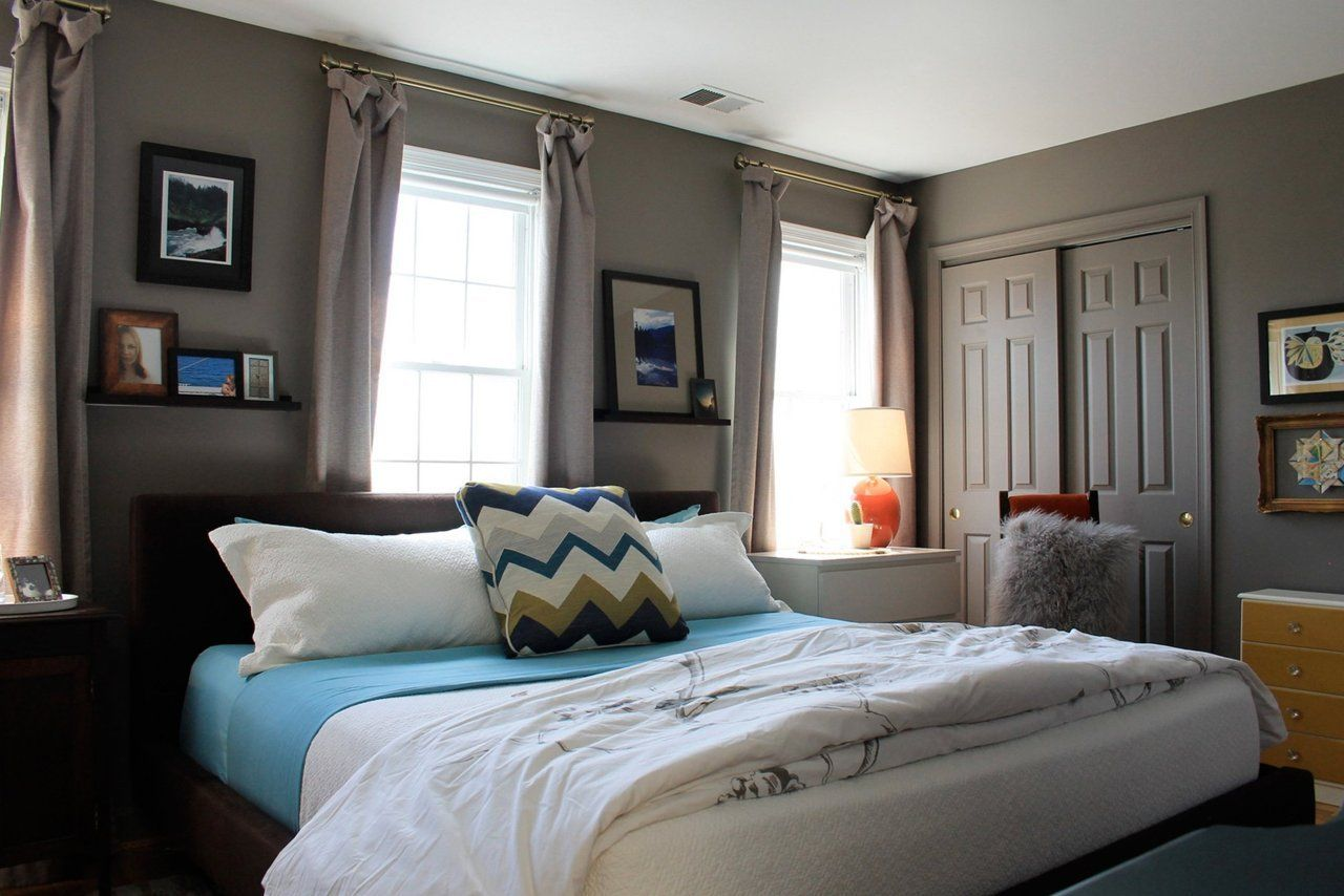 Kerra's PicturePerfect Perch White wall bedroom