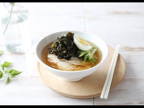 Iced Noodles with Seaweed-YouTube