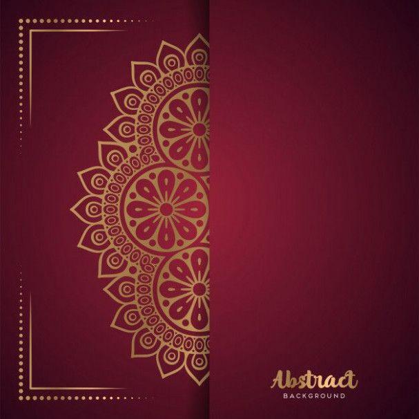 blank hindu wedding card template in 2020  hindu wedding