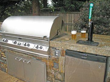 Kegerator Design Ideas Pictures Remodel And Decor Outdoor Kegerator Outdoor Bbq Kitchen Outdoor Kitchen Design