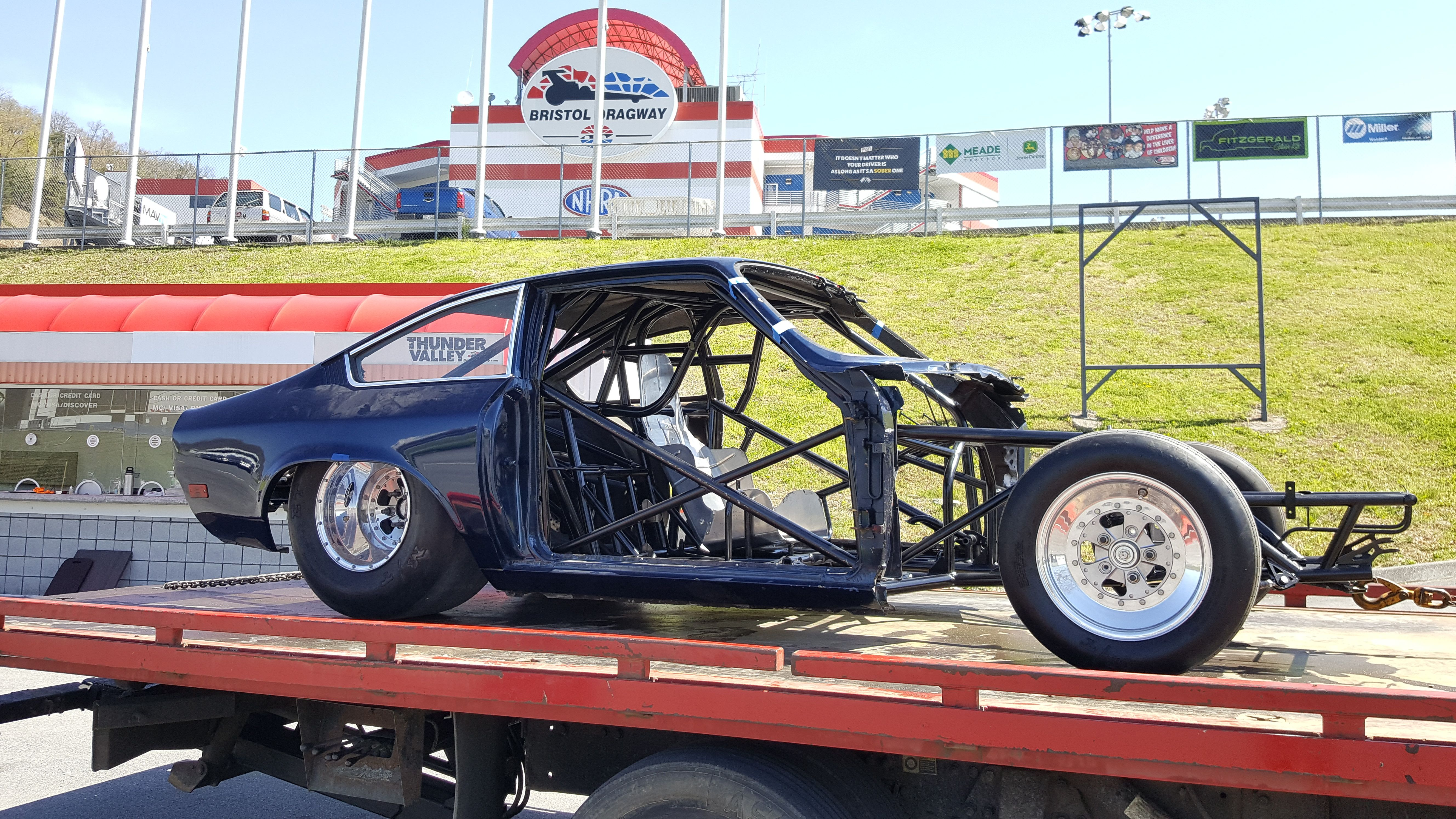 Another Full Tube Chassis Completed Nhra 7 50 Chassis Cert