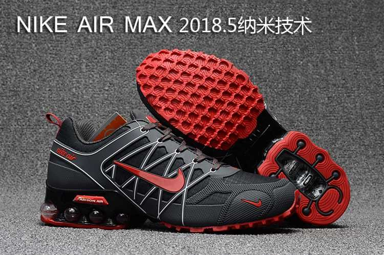 2018.5 Nike Air Max Nanotechnology Gray White Red Men  37404dec069ee