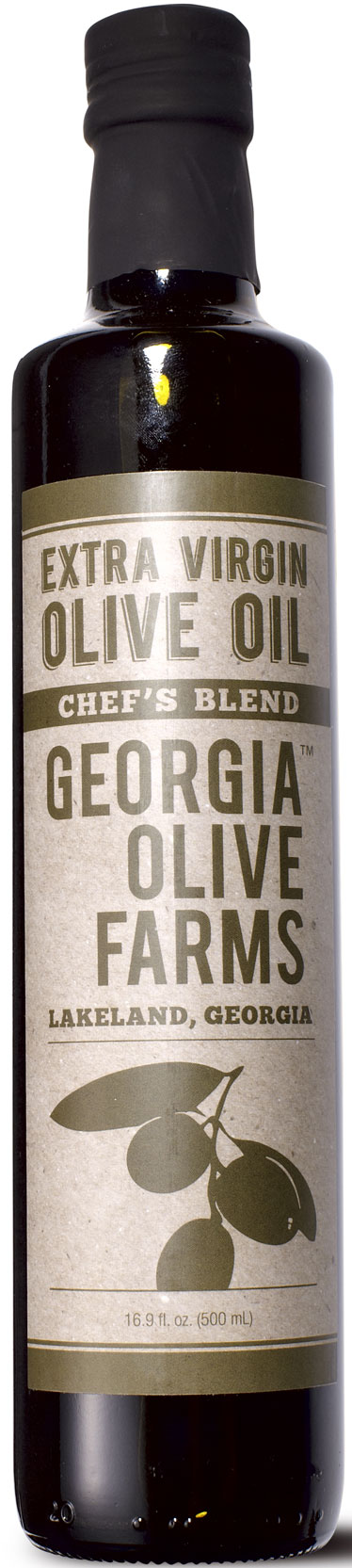 """""""Not only did the South rise again, it came back bearing the country's most spectacular olive oil"""" Georgia Olive Farms Extra-Virgin Olive Oil"""