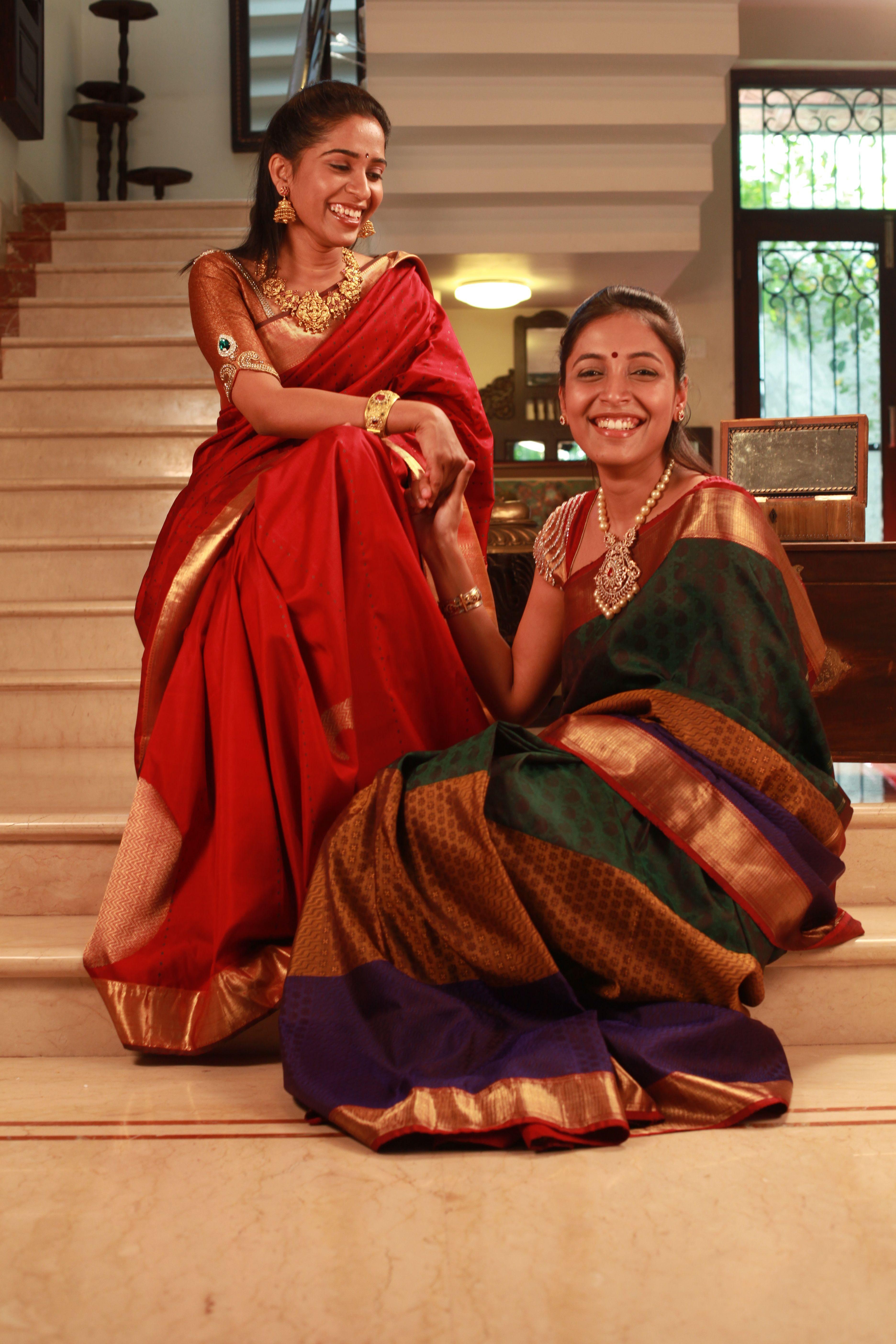 South Indian Silk Wedding Sarees