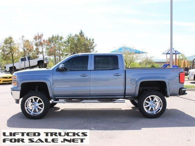 2015 chevrolet silverado 1500 lt crew cab lifted truck lifted chevy trucks for sale. Black Bedroom Furniture Sets. Home Design Ideas