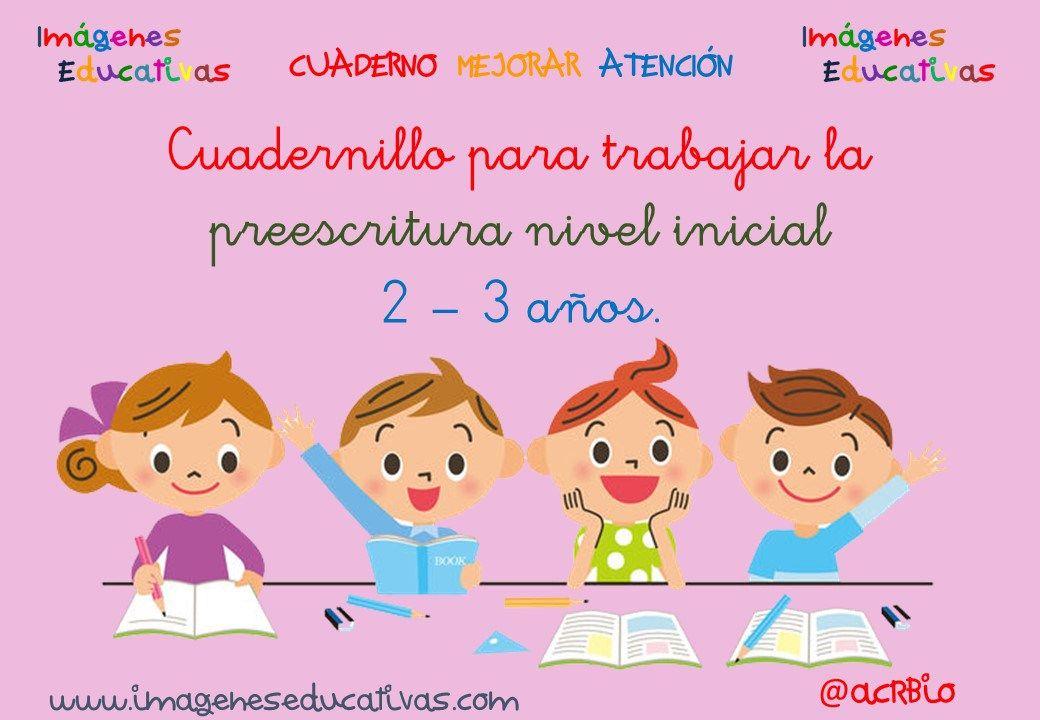 Cuadernillo fichas para trabajar la preescritura nivel for Actividades pedagogicas para ninos de 2 a 3 anos