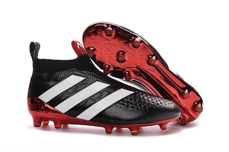 big sale 1f8fa cea73 adidas ACE 16+ PureControl FG-AG (black/white/red) | Adidas ...
