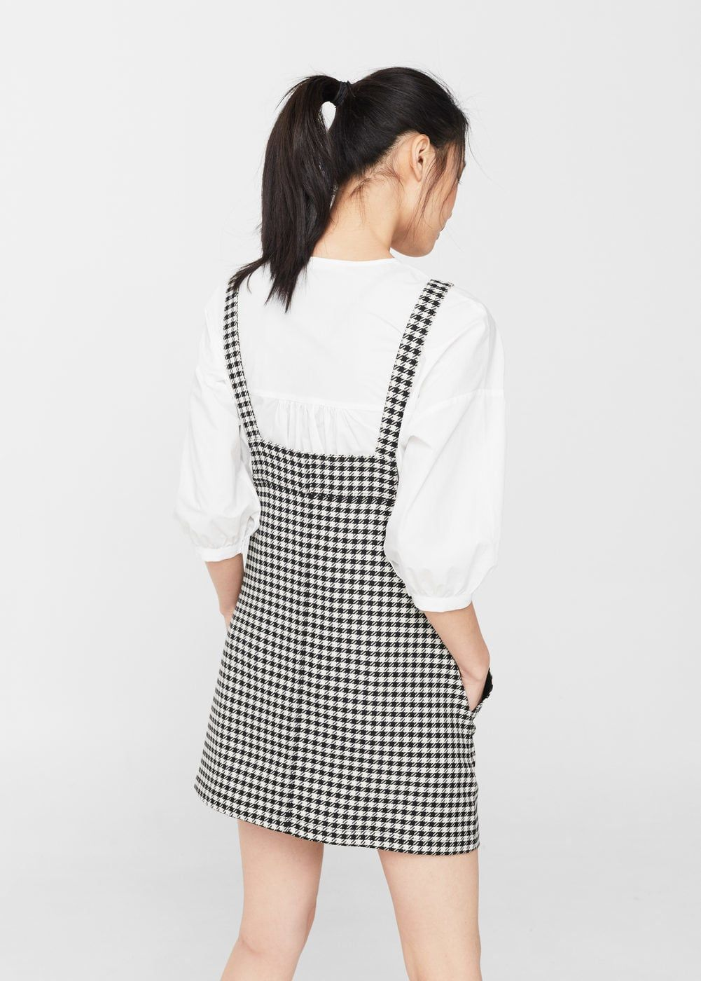 1a0c108f7db5 Two-tone printed pinafore dress - Women