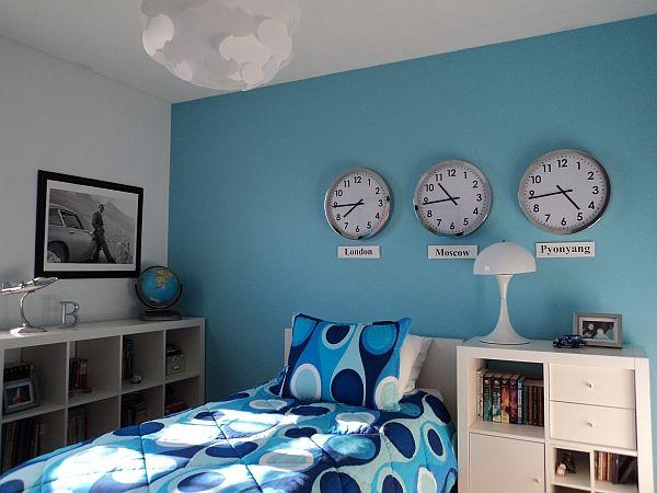 dekorationsideen für das kinderzimmer eines jungen - http