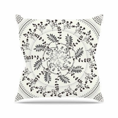 KESS InHouse Magical Vibes Boho Madellion Throw Pillow Size: