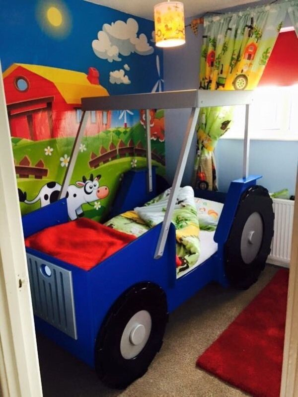 tractor bed united kingdom gumtree diy crafts that i love pinterest lit tracteur. Black Bedroom Furniture Sets. Home Design Ideas