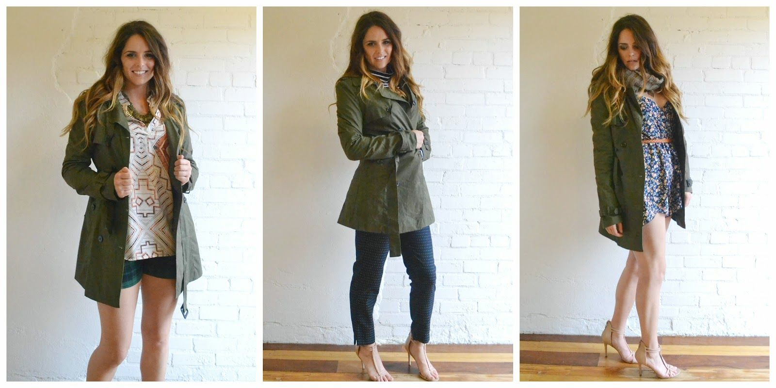 Behind the Store Closet Staple: Trench Coat