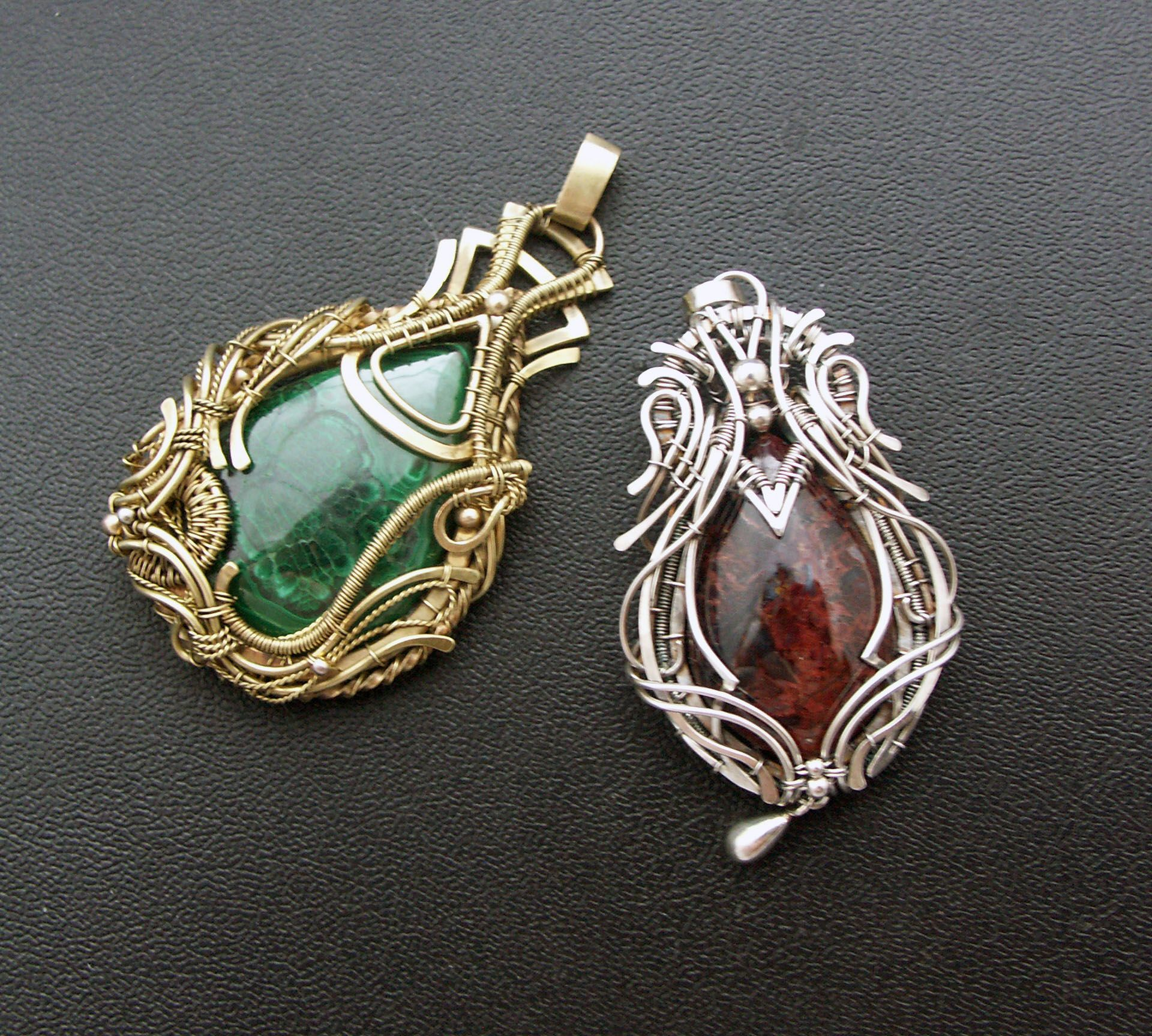 Pin by Наталья Иванова on My Jewelry wire wrap | Pinterest | Wire ...