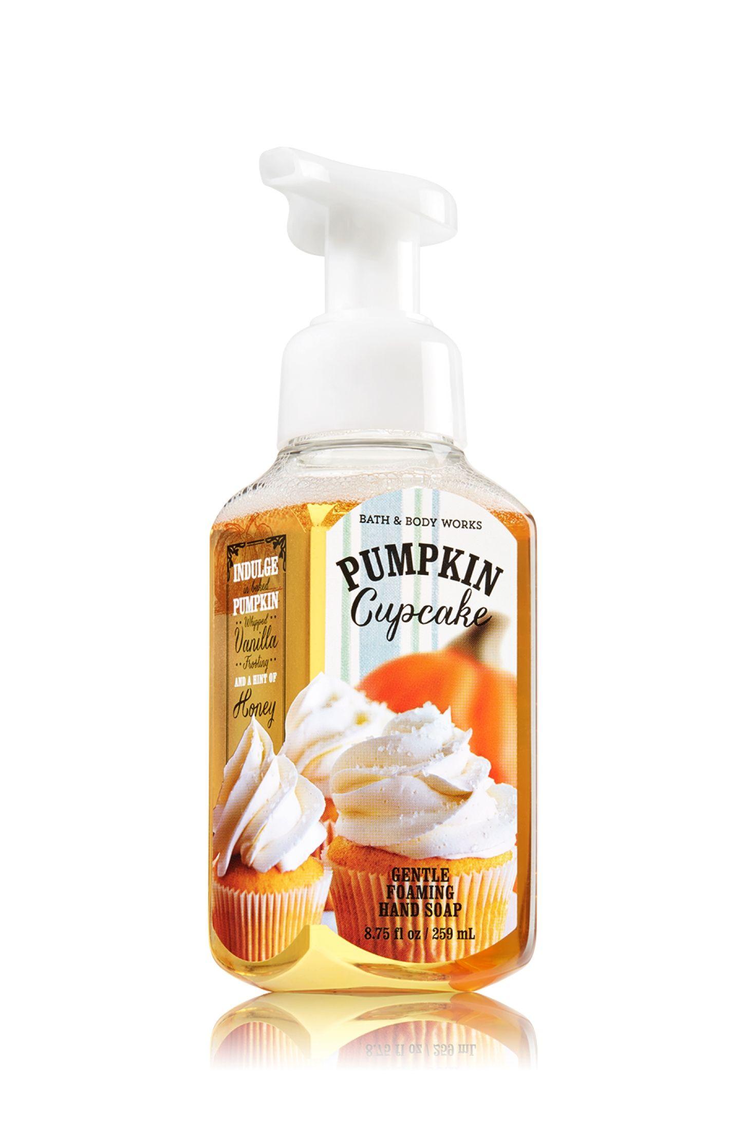 Pumpkin Cupcake Gentle Foaming Hand Soap Soap Sanitizer Bath