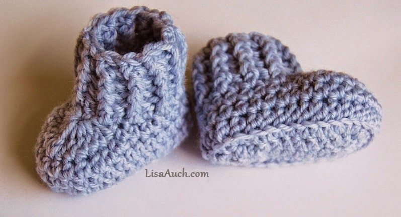free crochet patterns baby booties | Baby crochet | Pinterest ...