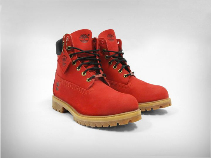 Ruby Red JTM Timberland Boots | Wish List | Red timberland