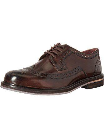TED BAKER Men/'s Dark Brown Ttanum Brogue shoe.