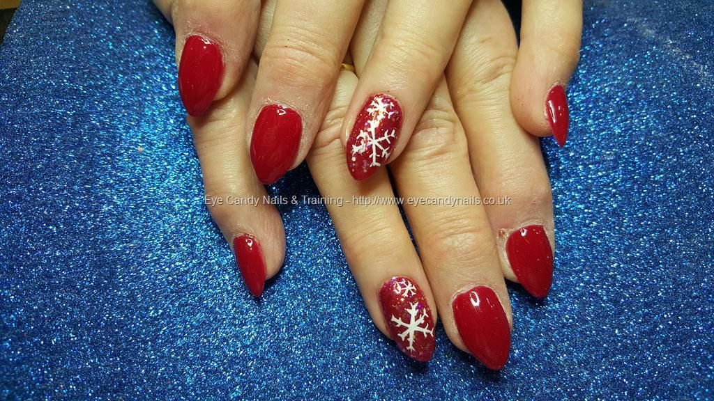 Acrylic nails with kiss and tell | More Loveable Nails | Pinterest ...
